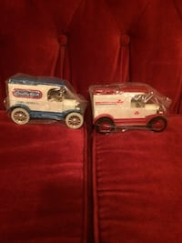 Two brand new coin banks made by Ertl co. In excellent condition been in storage now need to sell no more storage   Searcy, 72143