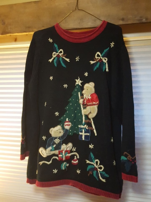 94ec36cf9cc2f1 Used NAUGHTY UGLY CHRISTMAS SWEATER for sale in Rockton - letgo