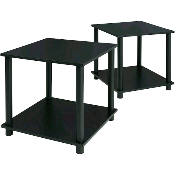 End Tables Living Room Night Stands For Bedrooms Set Of 2 Vinyl