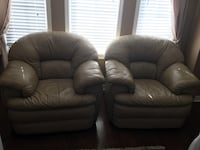 Leather Chairs both for $500 London, N6C 4C5