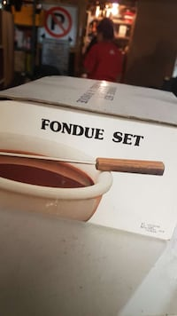fondue set box Vaughan