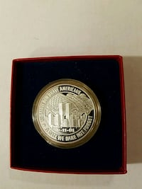 09/11/01 Salute To Brave Americans Coin Huntington, 25702