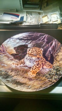 Bradex Leopard Cubs Collector Plate Centreville, 20120