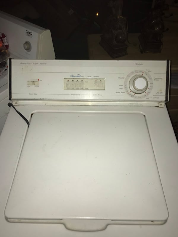 Heavy duty whirlpool washer and dryer a49e1e7c-8031-4bc0-a530-c03e0c55c24c