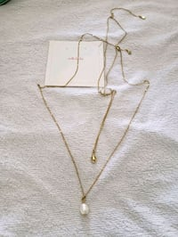Stella & Dot layered pearl necklace Bel Air, 21014