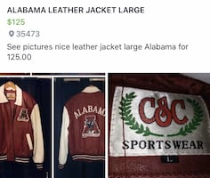 Leather Alabama Jacket