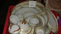 50 PIECE VINTAGE ASIAN CHINA SET  Forest Hill, 21050