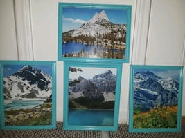 set of 4 picture