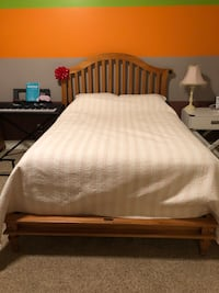 Full size bed and armoire Scottsdale, 85266