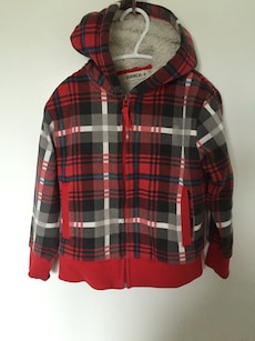 hoodie zip up jacket, 4t
