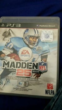 Sony PS4 Madden NFL 15 game case Luray, 22835