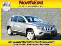 2016 Jeep Compass Sport suv Billet Silver Metallic Clearcoat Canton