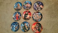 WWE collector plates  North Las Vegas, 89031