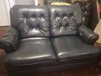 Real leather 3 piece couches / sofas Commerce City, 80022
