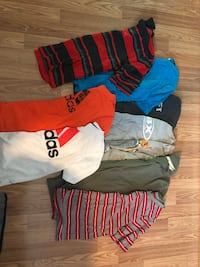 Boys Size 10/12 Summer Shirts -9 total  Culpeper, 22701