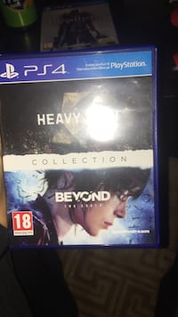 Sony PS4 Heavy beyond game case