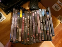 DVDs and Blu Ray