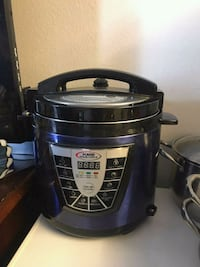 blue and gray slow cooker 2235 mi