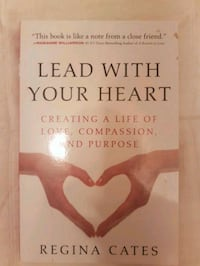 Lead with your Heart book by Regina Cates Cambridge, N1P 1C6