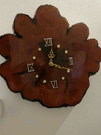 brown and black wooden wall clock Richmond Hill, L4C 4S8
