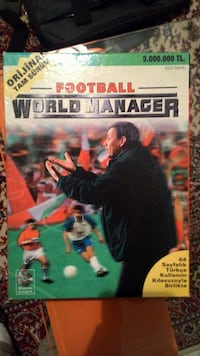 Football World Manager (2000) Orijinal Kutusunda