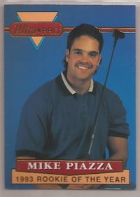 1994 MIKE PIAZZA #3 of 6 with Golf Club Eden