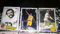 NBA And NFL  Cards in good shape negotiable ...