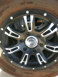 Trailer Wheels- set of 4 with spare Mesa, 85201