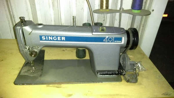 Used Singer 40 Industrial Sewing Machine For Sale In East Los Gorgeous Industrial Singer Sewing Machine For Sale