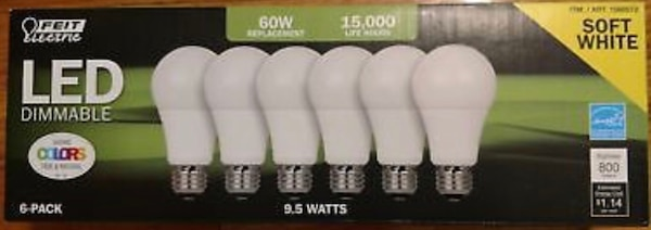 Soft White Light Bulbs