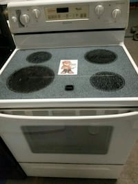 white and black induction range oven Twinsburg, 44087