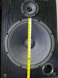 15inch Sony  Speakers Mission