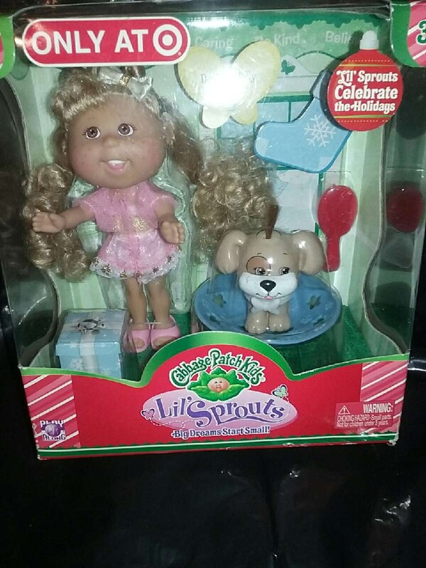 25844622cce Used Cabbage Patch Kids Lil  Sprouts in box for sale in St. Louis - letgo
