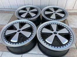 "VERY RARE Rotiform 20"" Rims FUCH"