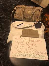 Authentic Prada Set being listed from Mitzys Purses and More-