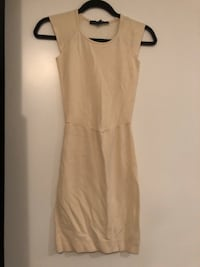 Cream French Connection Dress 539 km