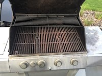 stainless steel 4-burner gas grill Spruce Grove