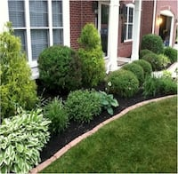 Landscaping mulch and spring clean up