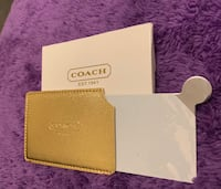 Coach brand new stainless steel pocket mirror Vaughan, L4K