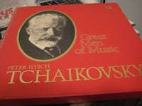 PETER ILYICH TCHAIKOVSKY - TIME LIFE - GREAT MEN OF MUSIC - 3 Vinyl Albums TORONTO