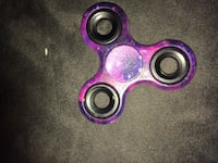 purple and blue stars printed 3-bladed fidget spinner Oro Valley, 85704