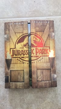 3 movies Jurassic Park dvd box set.