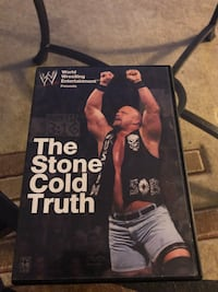 THE STONE COLD TRUTH DVD.  WWE.  STONE COLD STEVE AUSTIN. WWF WWE LJN Toronto, M1S 1V9