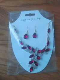 Earrings and necklace Airdrie, T4B 4G2