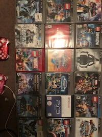 assorted Sony PS3 game cases Fresno, 93726