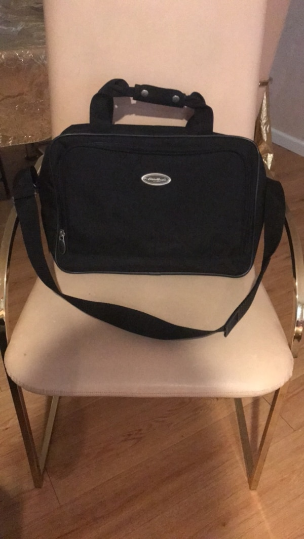 Ed Bauer Canvas Travel And Laptop Bag