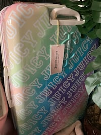 Juicy couture suitcase