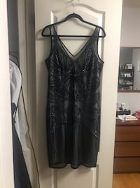 Beaded evening gown. Size 14 Vaughan, L4L 2S2
