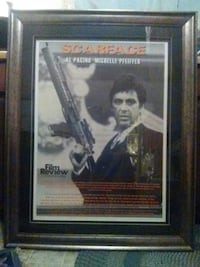 Scarface movie poster Marietta, 30062