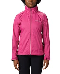 Womens Columbia Waterproof Jacket Large with hood Montgomery Village, 20886